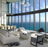 Get to Know the Best Interior Designers in Miami interior designers in miami Get to Know the Best Interior Designers in Miami Pentouse Dining Michael Wolk Design 169x164
