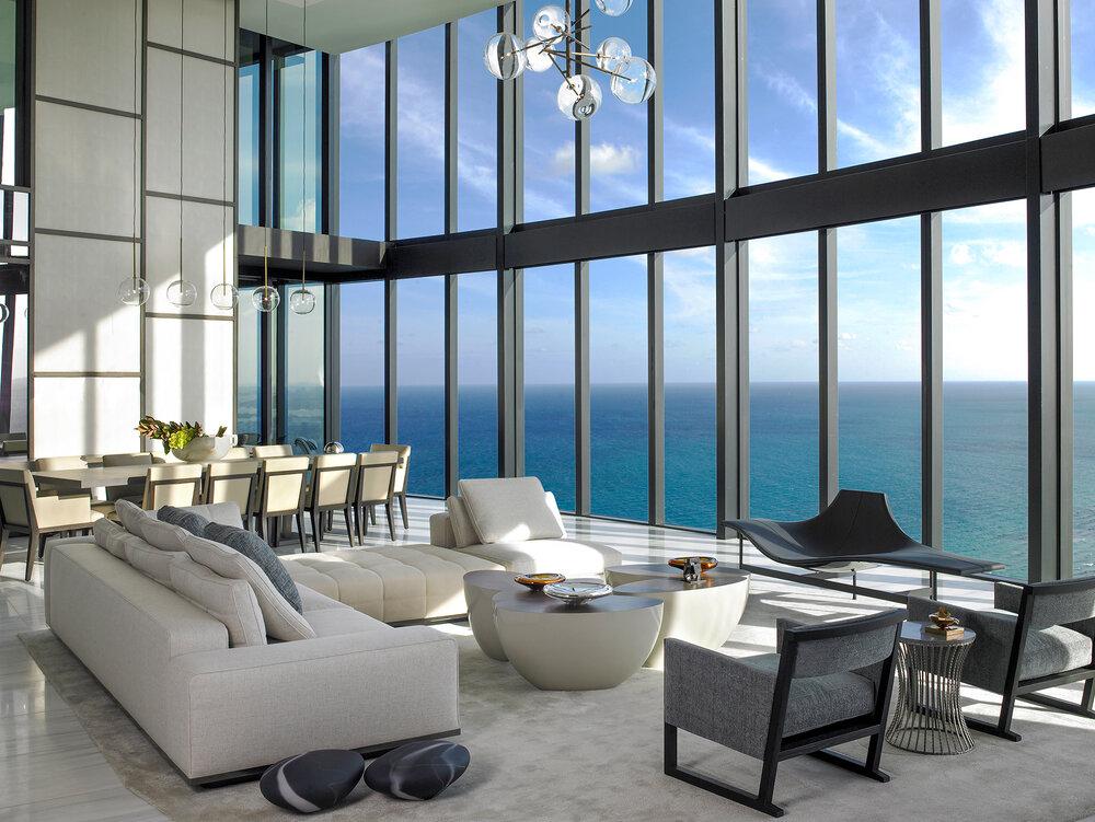interior designers in miami Get to Know the Best Interior Designers in Miami Pentouse Dining Michael Wolk Design