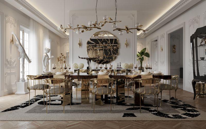 paris penthouse Luxurious Paris Penthouse Designed by Boca do Lobo Luxurious Paris Penthouse Designed by Boca do Lobo 1