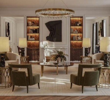 how to mix classic and contemporary design How to Mix Classic and Contemporary Design in a Parisian Apartment How to Mix Classic and Contemporary Design in a Parisian Apartment 3 450x410