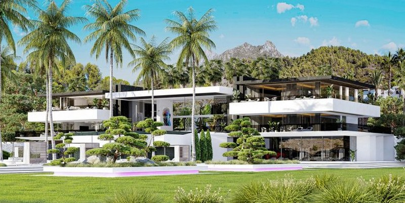 jaw-dropping villa in spain Interior Design Firm UDesign RevealsJaw-Dropping Villa in Spain Interior Design Firm UDesign Reveals Jaw Dropping Villa in Spain 9