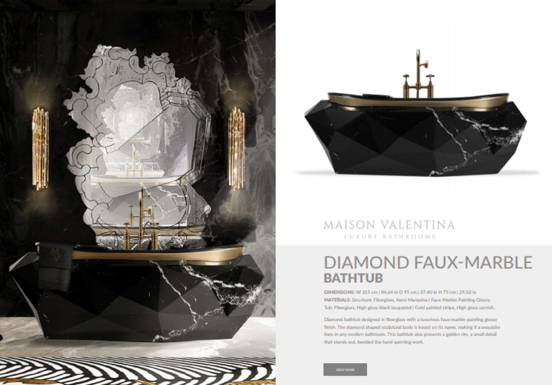 luxury bathroom ideas Luxury Bathroom Ideas:Find Out The Newest Products by Maison Valentina Luxury Bathroom IdeasFind Out The Newest Products by Maison Valentina 12