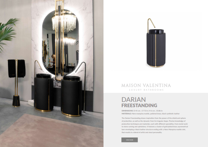 luxury bathroom ideas Luxury Bathroom Ideas:Find Out The Newest Products by Maison Valentina Luxury Bathroom IdeasFind Out The Newest Products by Maison Valentina 4