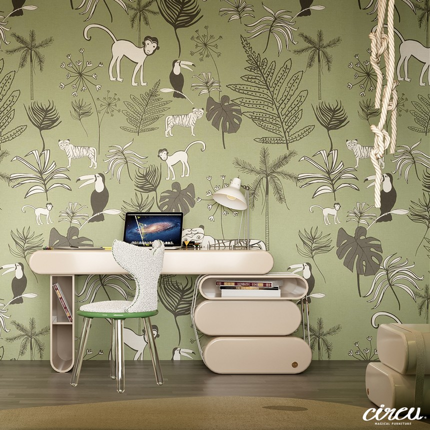 kids room Luxury Project Inspired by Nature: Jungle Themed Kids Room Luxury Project Inspired by Nature Jungle Themed Kids Room 3