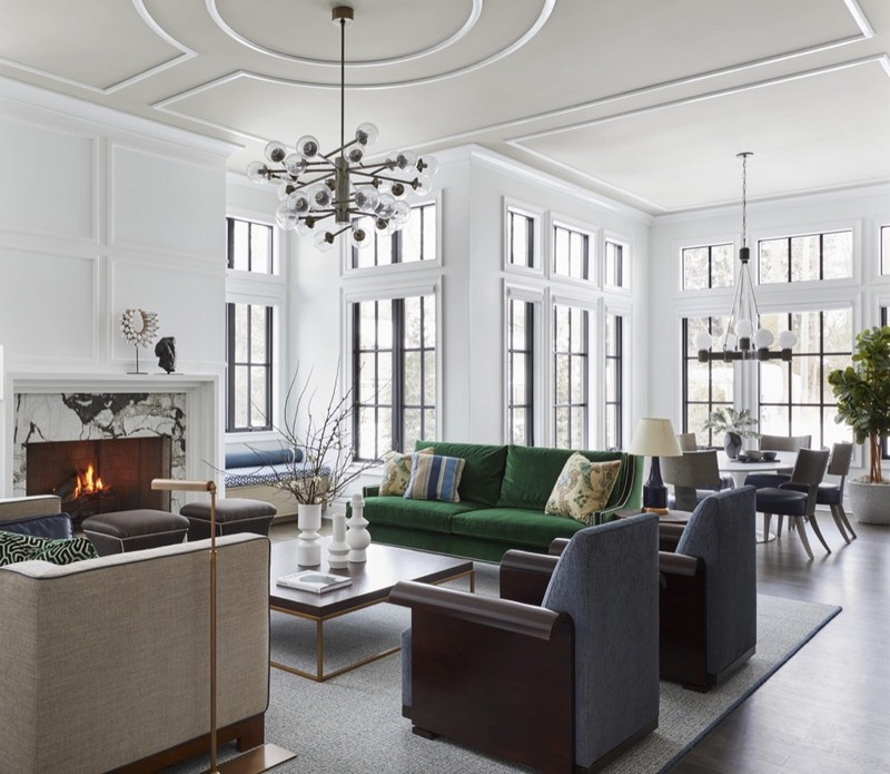 corey damen jenkins Architecturally Inspired Spaces by Corey Damen Jenkins Dane Austin Design Luxury Residential Interiors 1