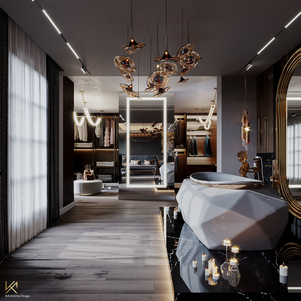 Interior Design Ideas: Celebrity Style Master Bedroom Interior Design Ideas Celebrity Style Master Bedroom 4