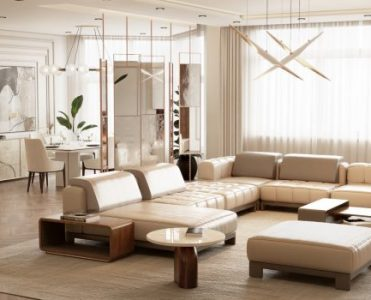 Freshly Designed Pieces: The Latest Take on Modern Design Living Modern Minimal Design Ideas for a Luxury Home 1 371x300