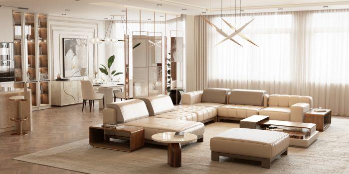Modern Minimal Design: Select the Perfect Sofa Modern Minimal Design Ideas for a Luxury Home 1