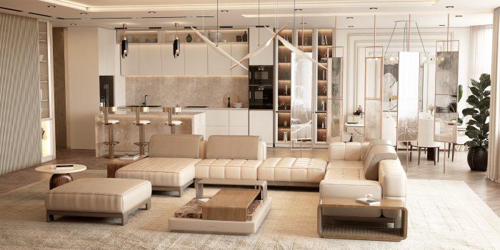 Modern Minimal Design: Select the Perfect Sofa Modern Minimal Design Ideas for a Luxury Home 3
