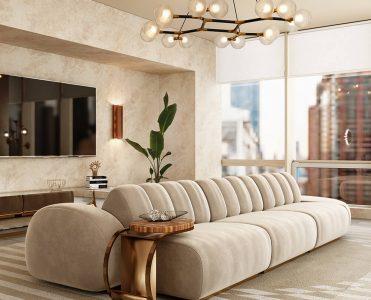Modern Minimal Design: Select the Perfect Sofa cassia modular sofa 371x300