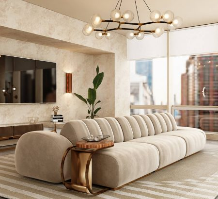 Modern Minimal Design: Select the Perfect Sofa cassia modular sofa 450x410