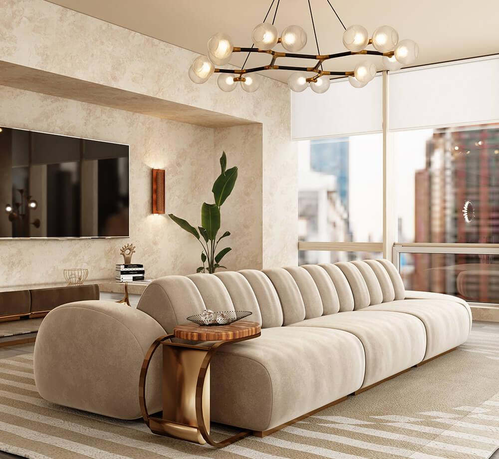 Modern Minimal Design: Select the Perfect Sofa cassia modular sofa