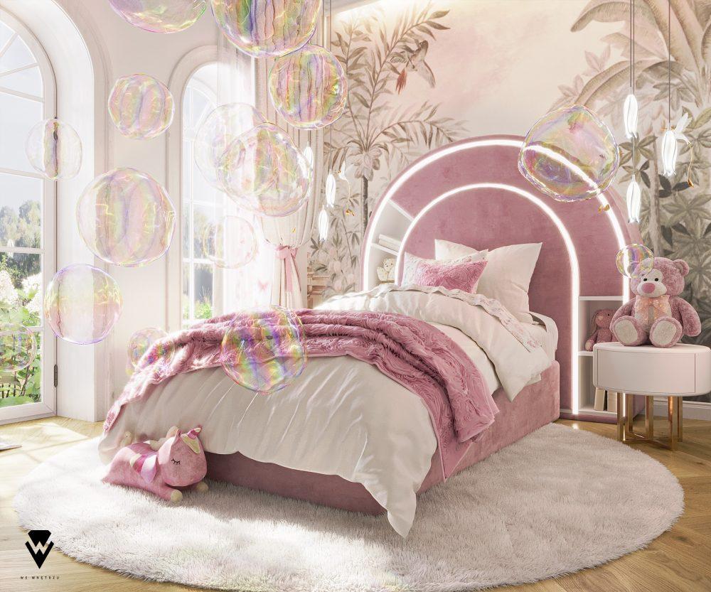 girls room ideas Girls Room Ideas: a Blossom Fairytale by We Wnętrzu Girls Room Ideas a Blossom Fairytale by We Wne  trzu 1