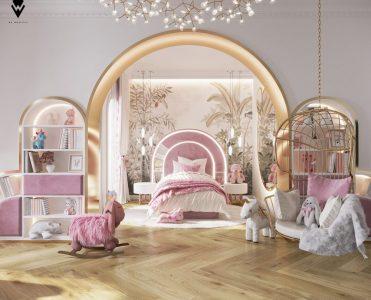 girls room ideas Girls Room Ideas: a Blossom Fairytale by We Wnętrzu Girls Room Ideas a Blossom Fairytale by We Wne  trzu 2 371x300