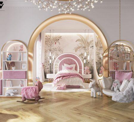 girls room ideas Girls Room Ideas: a Blossom Fairytale by We Wnętrzu Girls Room Ideas a Blossom Fairytale by We Wne  trzu 2 450x410