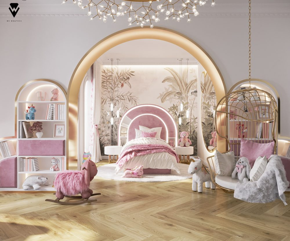 girls room ideas Girls Room Ideas: a Blossom Fairytale by We Wnętrzu Girls Room Ideas a Blossom Fairytale by We Wne  trzu 2