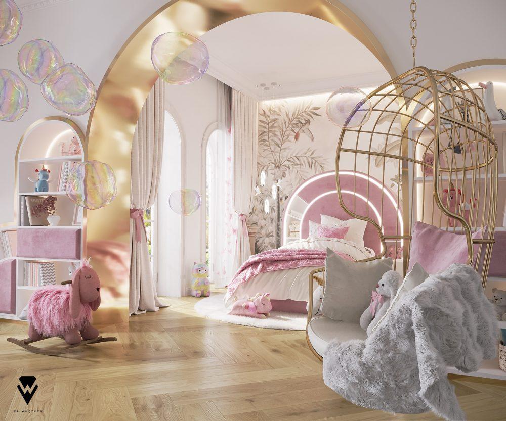 girls room ideas Girls Room Ideas: a Blossom Fairytale by We Wnętrzu Girls Room Ideas a Blossom Fairytale by We Wne  trzu 4
