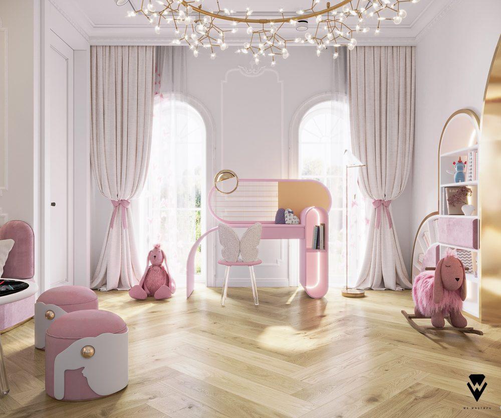 girls room ideas Girls Room Ideas: a Blossom Fairytale by We Wnętrzu Girls Room Ideas a Blossom Fairytale by We Wne  trzu 5