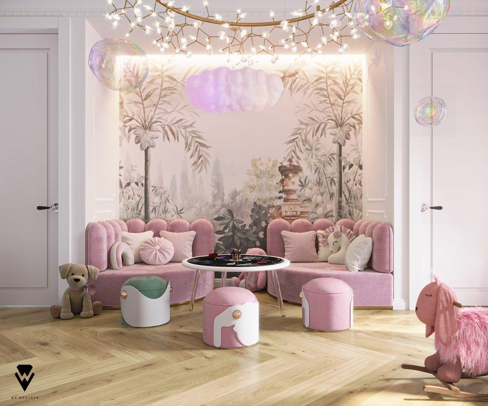 girls room ideas Girls Room Ideas: a Blossom Fairytale by We Wnętrzu Girls Room Ideas a Blossom Fairytale by We Wne  trzu 6