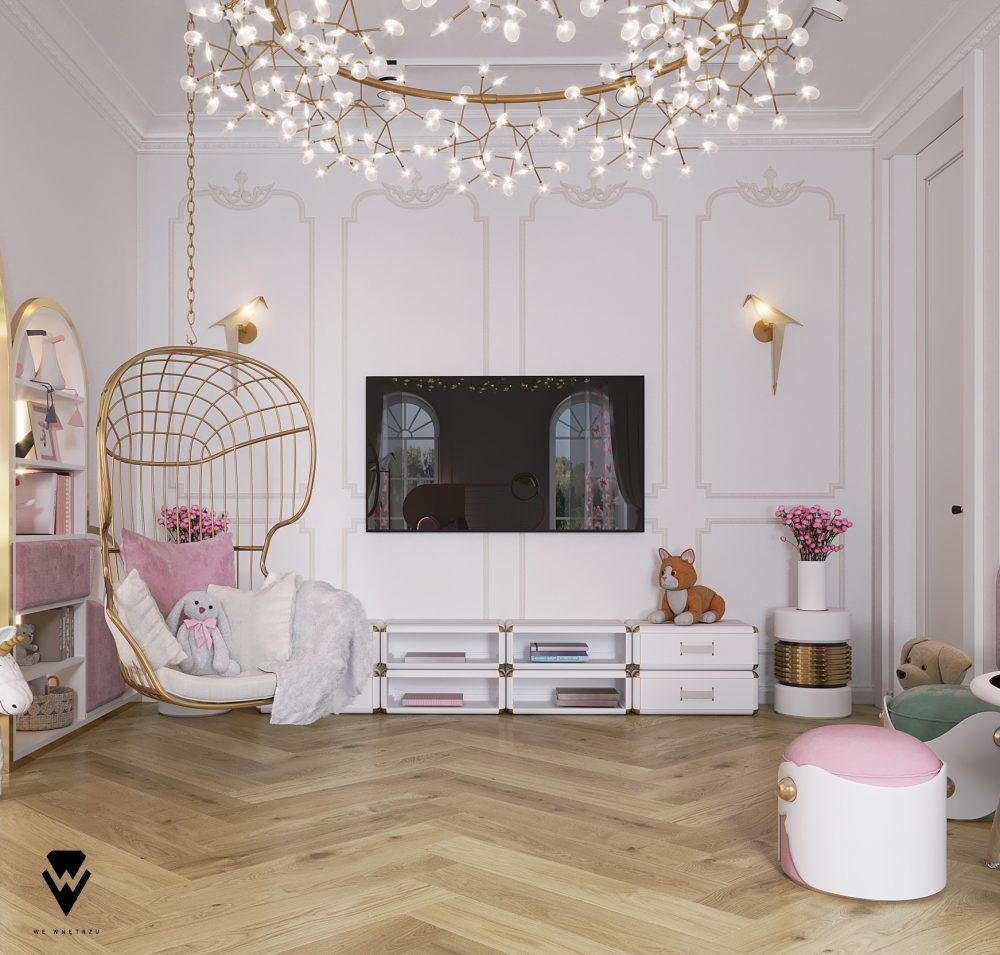 girls room ideas Girls Room Ideas: a Blossom Fairytale by We Wnętrzu Girls Room Ideas a Blossom Fairytale by We Wne  trzu 7