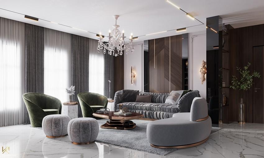 K.A. Interior Design | Luxury Modern Villa in Riyadh K