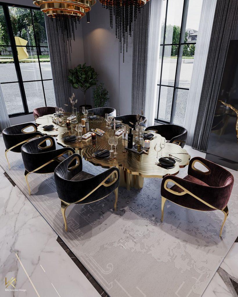 K.A. Interior Design   Luxury Modern Villa in Riyadh K