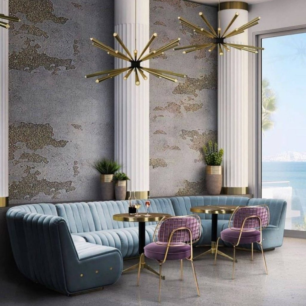 restaurant decor ideas Mid-Century Modern Style: Restaurant Decor Ideas Mid Century Modern Style Restaurant Decor Ideas 5 1