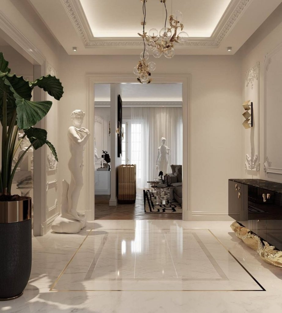 modern hallway ideas Modern Hallway Ideas To Give Your Home a Celebrity Style Modern Hallway Ideas To Give Your Home a Celebrity Style 9 scaled