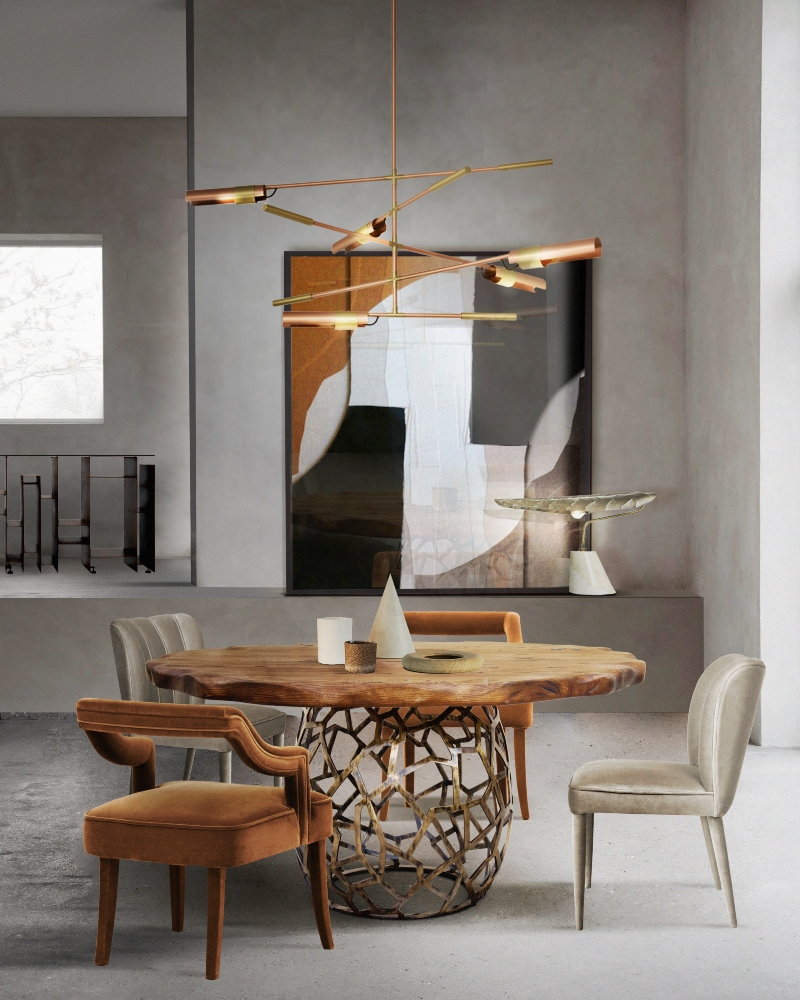 dining room and kitchen trends Interior Design Inspirations: Dining Room and Kitchen Trends 1 BB round dining tables