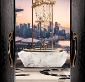 Modern Classic Bathroom Design Ideas modern classic bathroom Modern Classic Bathroom Design Ideas 10 MV 3 modern chandelier 169x164