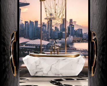 modern classic bathroom Modern Classic Bathroom Design Ideas 10 MV 3 modern chandelier 371x300