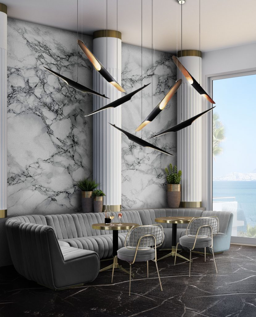 dining room and kitchen trends Interior Design Inspirations: Dining Room and Kitchen Trends 2 DL 5 Mid century modern suspension lights scaled
