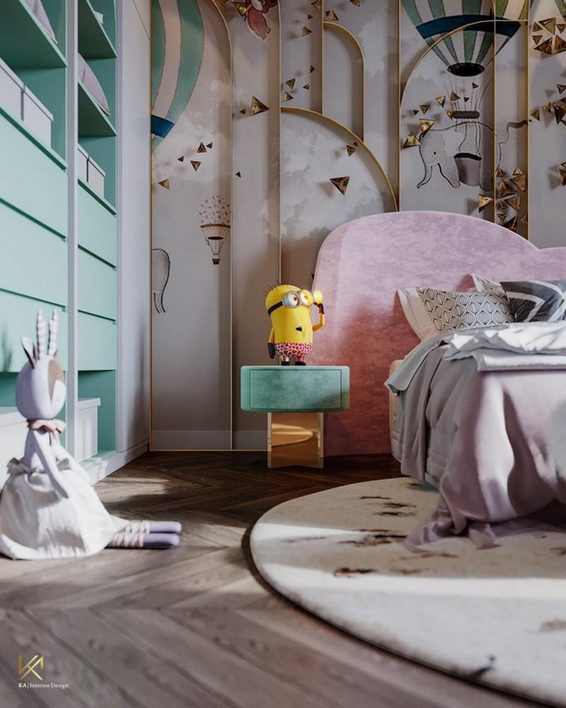 modern classic girls' room design Modern Classic Girls' Room Design LUXURY GIRLS ROOM IN A CLOUDY SKY BE A GOLDEN STAR 4