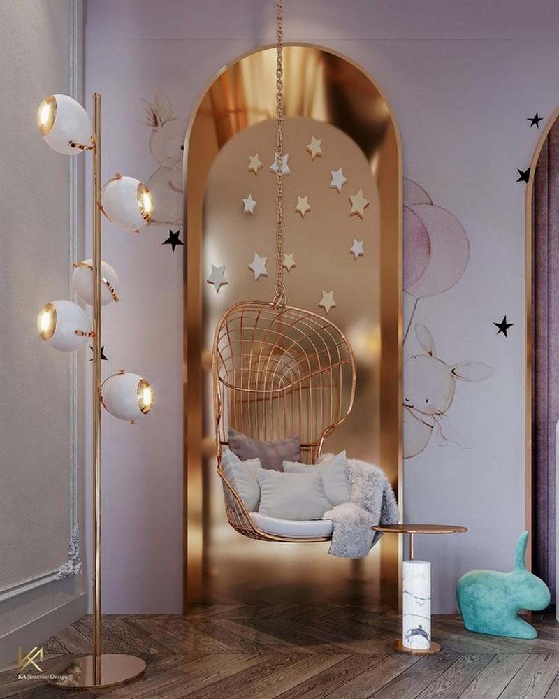 modern classic girls' room design Modern Classic Girls' Room Design LUXURY GIRLS ROOM IN A CLOUDY SKY BE A GOLDEN STAR 5