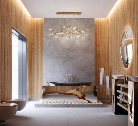 Trend Bathroom Ideas | Contemporary Master Bathroom By Natan Argente Trend Bathroom Ideas Contemporary Master Bathroom By Natan Argente 8 450x410