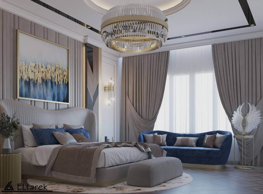 modern classic master bedroom Trend Interiors: Modern Classic Master Bedroom Trend Interiors Modern Classic Master Bedroom 5