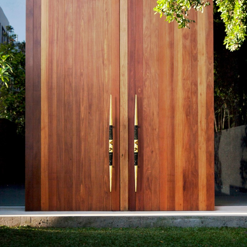 Contemporary Modern Home: Entryway and Hall Ideas