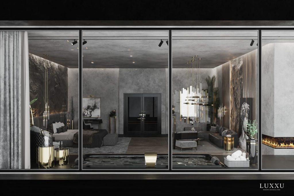 Luxury House at Mont Blanc, luxury bedroom