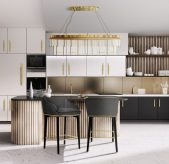Luxurious Dining Room and Kitchen Inspiration kicthen island