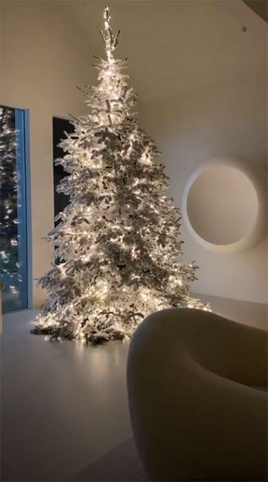 2020 celebrity christmas trees 2020 Celebrity Christmas Trees that You'll Love kim kardashian christmas tree a
