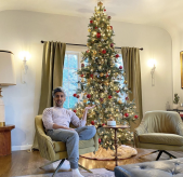 2020 Celebrity Christmas Trees that You'll Love 2020 celebrity christmas trees 2020 Celebrity Christmas Trees that You'll Love tan france christmas tree 1604518771 169x164
