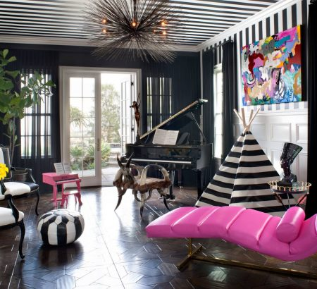LA Neighborhood: 20 Best Interior Designers 5 MusicRoom preview 450x410