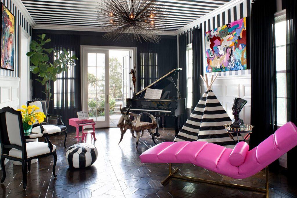 LA Neighborhood: 20 Best Interior Designers 5 MusicRoom preview scaled