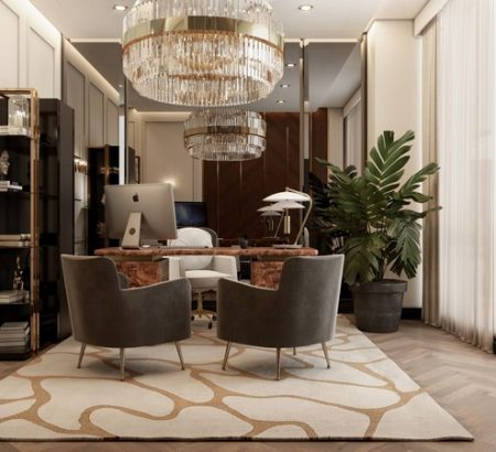 NYC Modern Apartment: Get Inspired by the Neutral Take on Luxury Interior Design NYC Modern Apartment Get Inspired by the Neutral Take on Luxury Interior Design 17 450x410